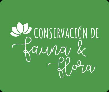 Conservación de fauna y flora