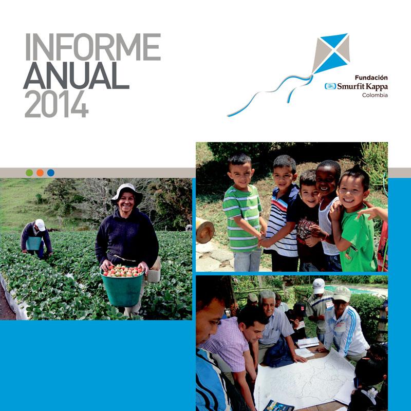Informe Anual 2014 - Fundación Smurfit Kappa Colombia