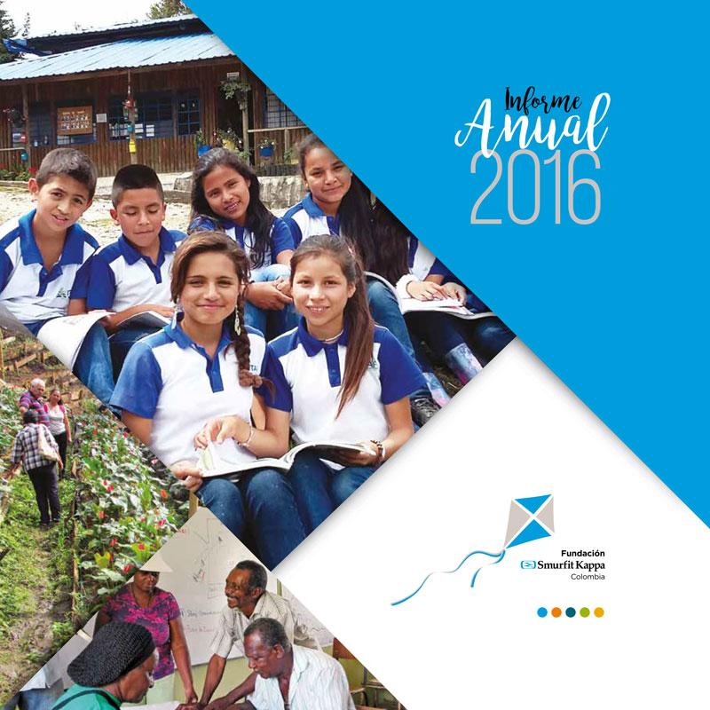 Informe Anual 2016 - Fundación Smurfit Kappa Colombia